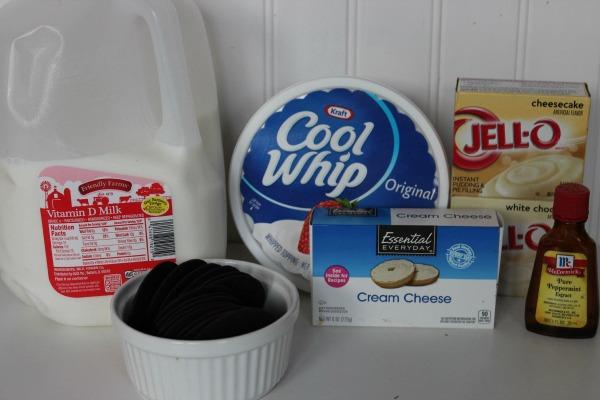 peppermint cheesecake parfait ingredients