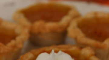 It's Pumpkin season. Here's an easy pumpkin pie recipe to make and great Thanksgiving dessert!