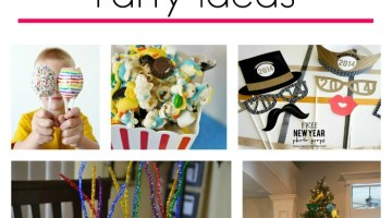 When you have kids it can be hard to go out on New Year's! Try one of these 23 Awesome New Year's Eve Kid Party Ideas this year and have fun w/ everyone!