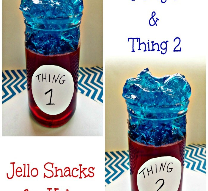 Thing 1 and Thing 2 The Cat In the Hat Snack