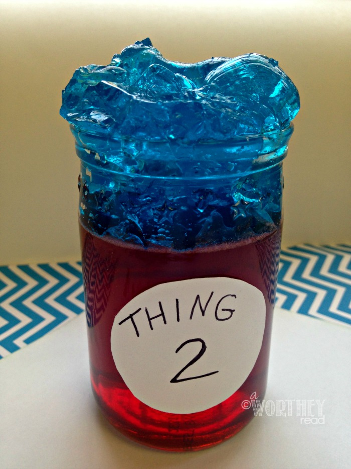 thing 2 Dr Seuss Snack Idea