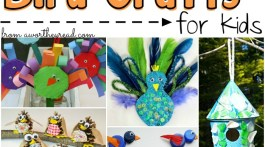 Have fun with these easy outdoor activities for kids! Find the coolest Bird Crafts that kids can make!
