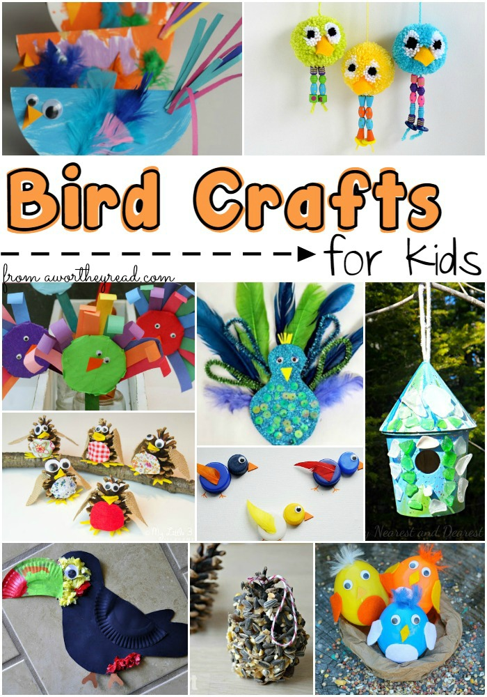 10 Cool Bird Crafts For Any Kid