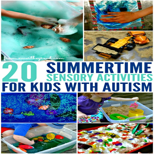 Summertime Sensory Activities For Kids With Autism Autism