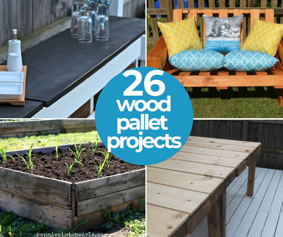 Creative Ways To Use Wood Pallets