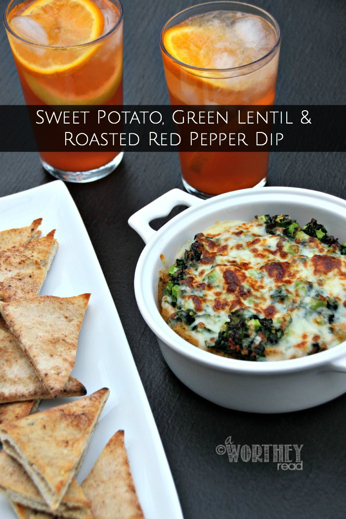 Sweet Potato, Green Lentil and Roasted Red Pepper Dip   Recipe