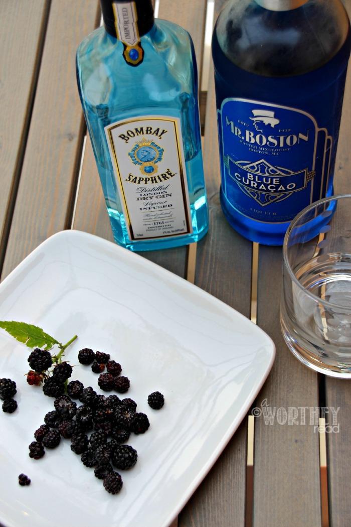 Drink Recipe Wild Blackberry Crush