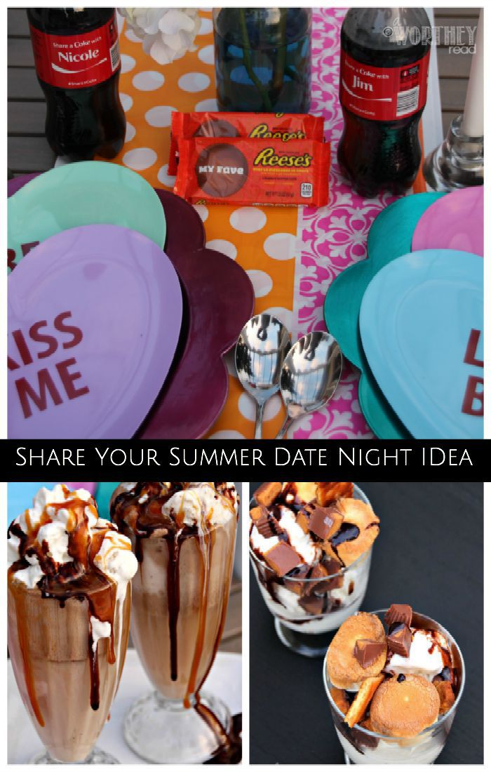Table Idea Share Your Summer Date Night
