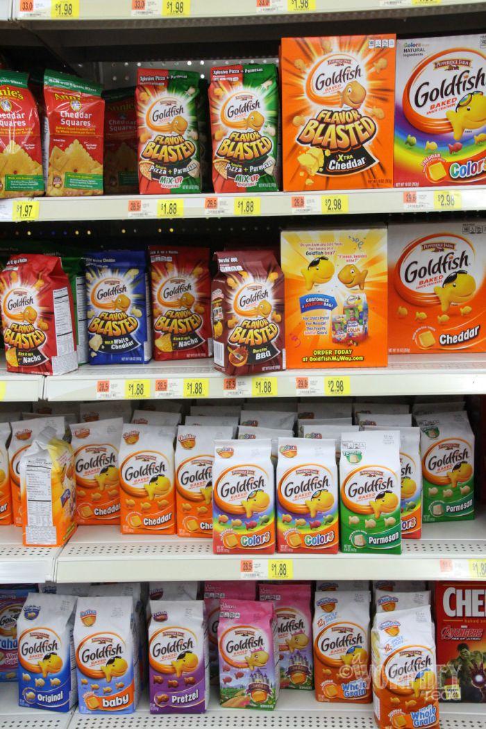 Walmart Goldfish Crackers