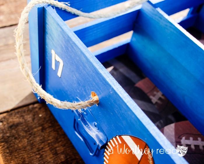 DIY Snack Crate