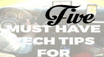 Five Must Have Tech Tips for Road Trips