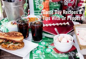 Game Day Recipes & Tips With Dr Pepper®