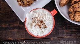Salted Caramel Irish Coffee