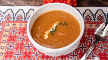 Sweet Potato & Yukon Gold Soup