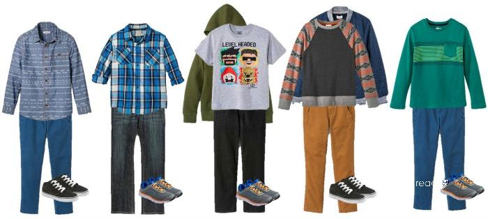 Mix Match Fall Fashion Ideas For Middle School Boys