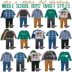 Mix & Match Fall Fashion Ideas for Middle School Boys