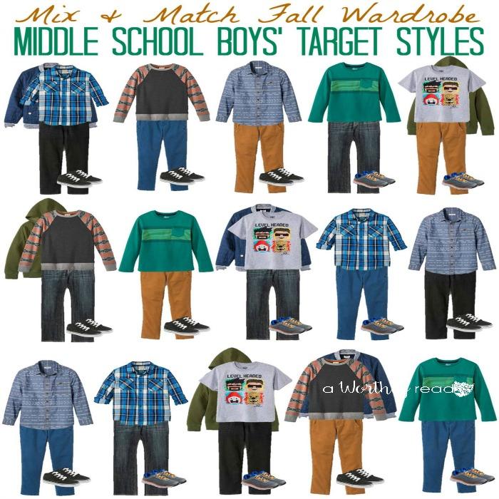 Mix & Match Fall Fashion Ideas for Middle School Boys