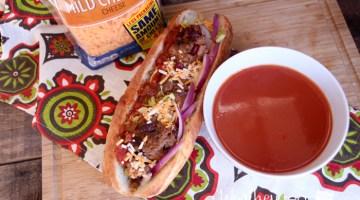 Great appetizer idea Mexican Style Meatball Sandwich