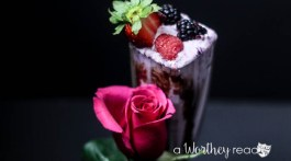 Adult Cocktail Drink for Valentine's Day