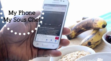 The one thing I have to use every time I cook, #kitchenhack My Phone, My Sous Chef