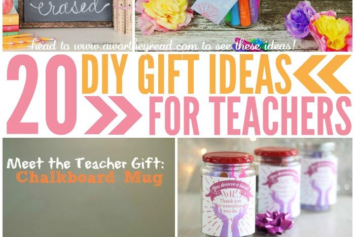 20 DIY Gifts Ideas For Teachers