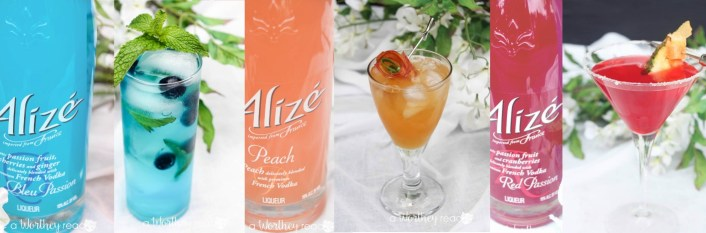 Alizé Summer Cocktail Ideas