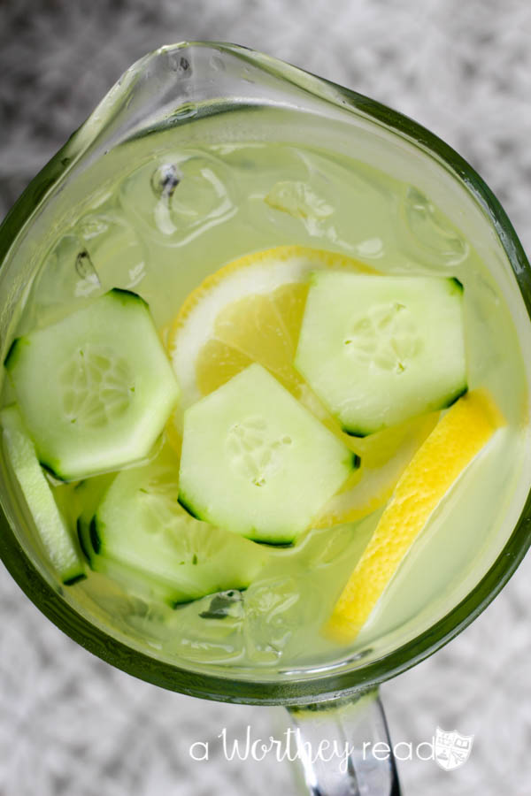 Lemon & Cucumber Lemonade