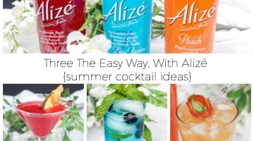 Summer Cocktail Ideas with Alizé