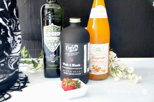 Dreamy Peach & Strawberry Tea Ingredients