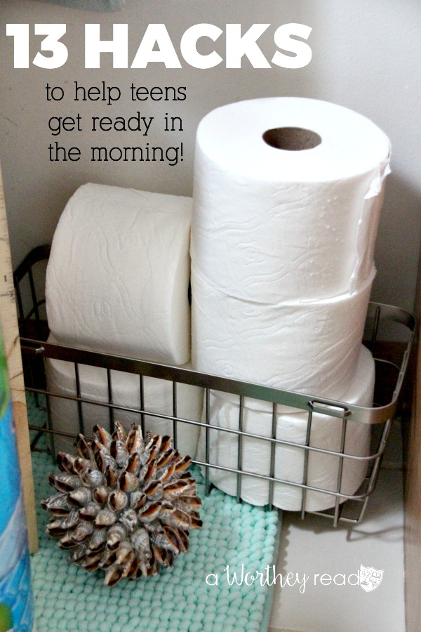 Use our tips and tricks to help your boys get ready quickly in the morning for school. You can also read what we do to make sure they change the empty toilet paper rolls! 13 Hacks To help Teens Get Ready For School In The Morning