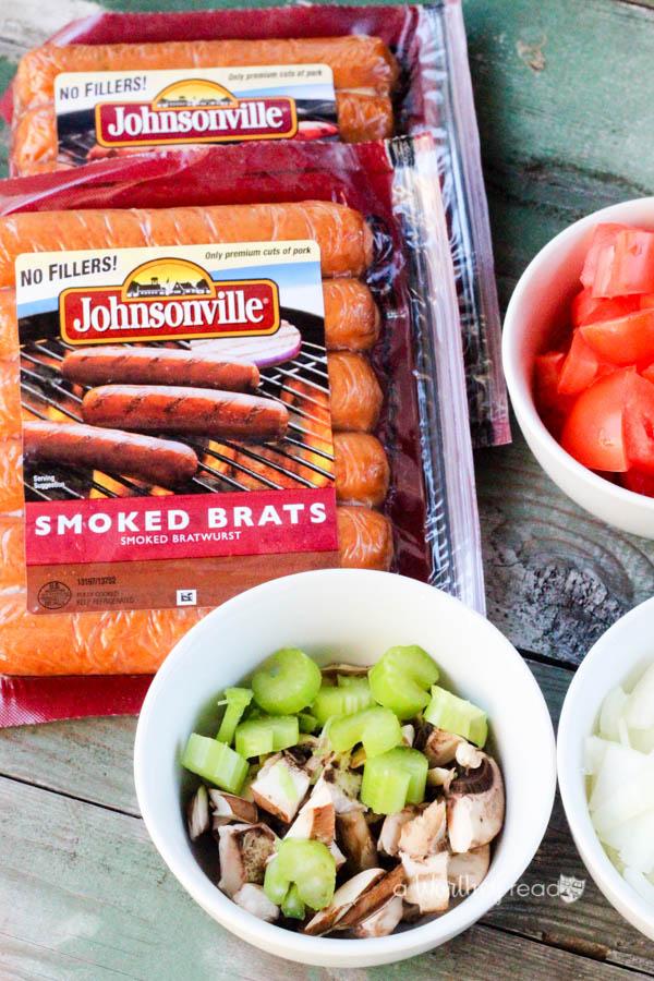 Easy InstaPot Recipe- Sausage Cacciatore