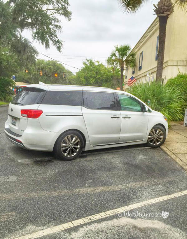 Best family road trip - Kia Sedona