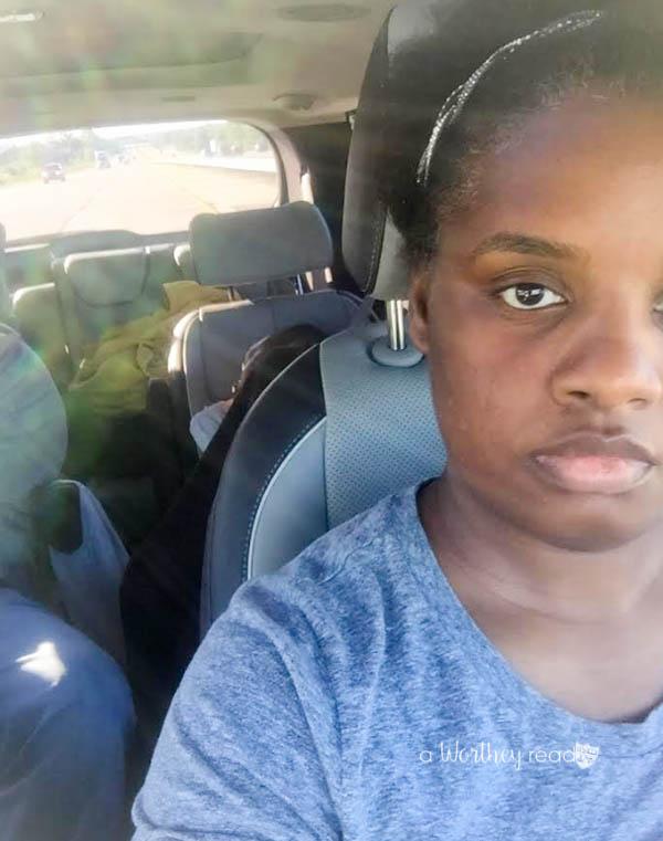 Best family road trip - Kia Sedona
