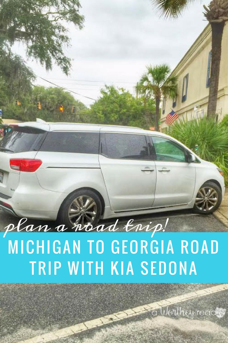 Michigan To Georgia Road Trip With Kia Sedona This Worthey Life Wont Start