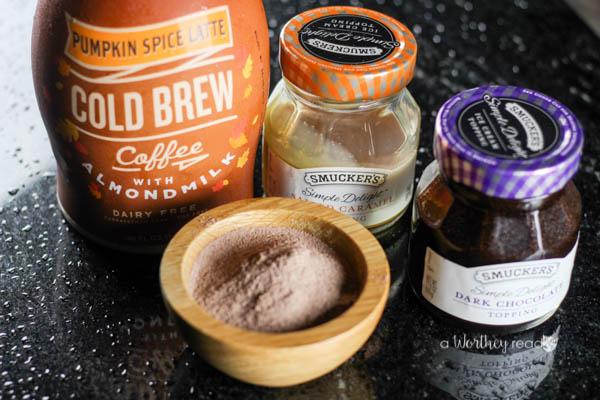 Easy Pumpkin hot chocolate recipe for fall