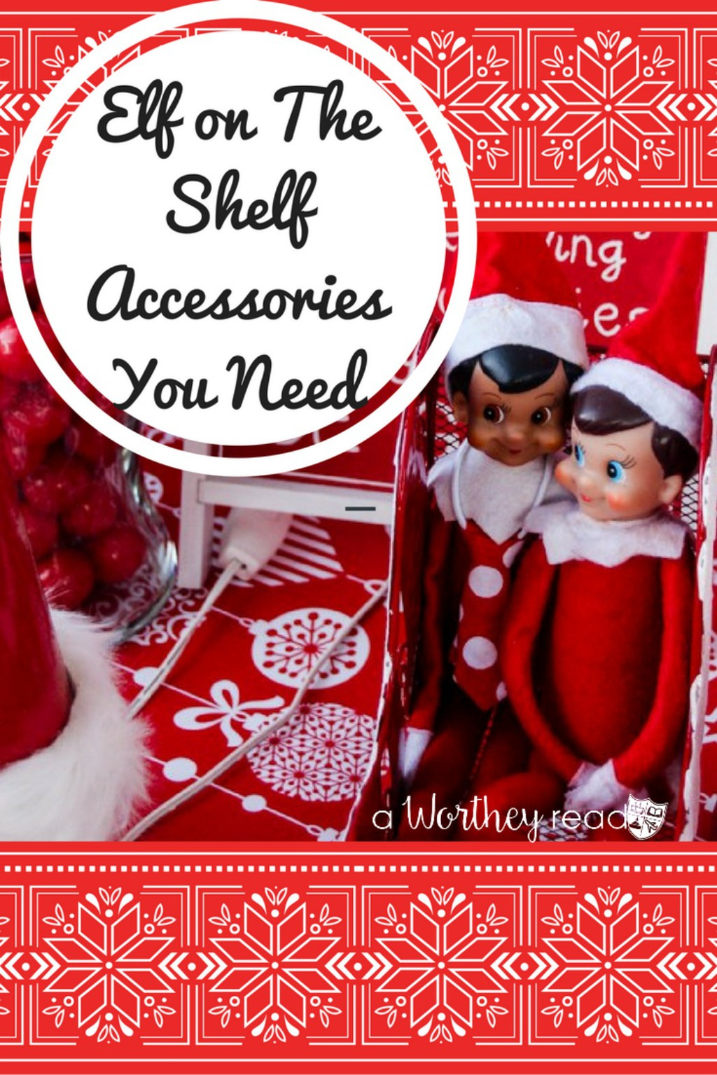 Don't miss buying these Elf On The Shelf Accessories for your kids Elf this Christmas! Tons of fun items to choose from to make your Elf even more fun!