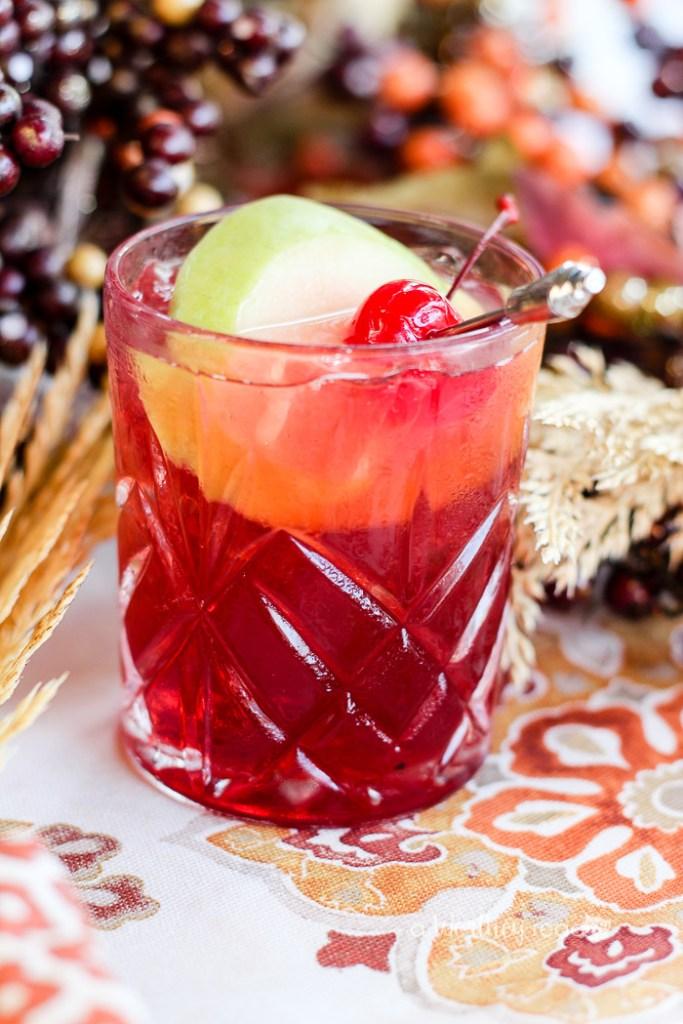 Hard Cherry Cider Cocktail