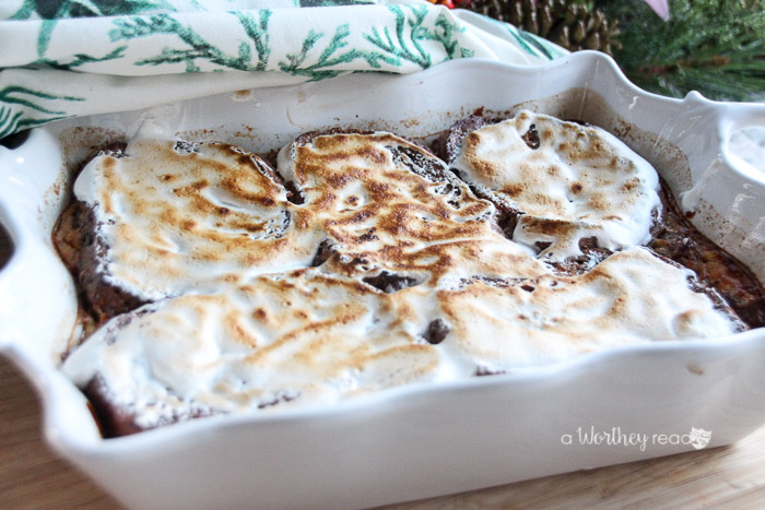 Raisin Cinnamon Walnut Old Fashioned Bread Pudding