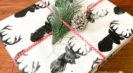 Do you love to try new do-it-yourself ideas for Christmas? How about making your own wrapping paper? Our DIY Reindeer Wrapping Paper is an easy Christmas DIY project, plus, it's creative and different! Click through to get the supply list and instructions!