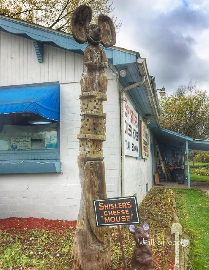 Schislers Cheese in Ohio- Amish Country