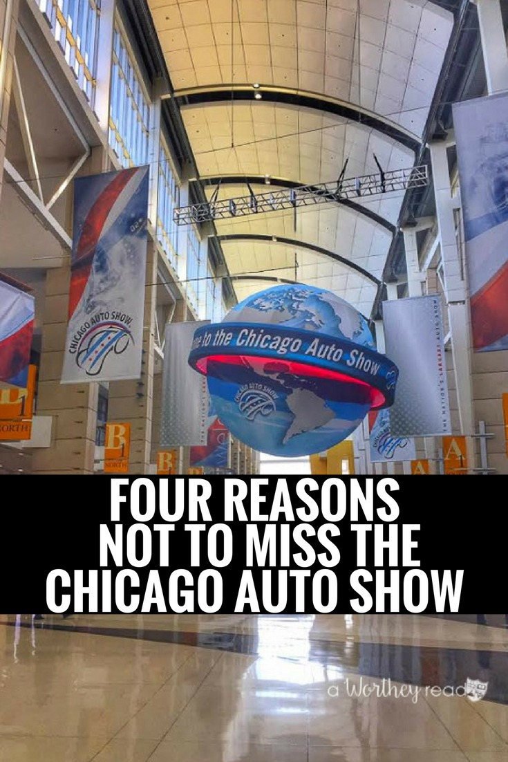 The Chicago Auto Show for 2017 is currently going on at the McCormick Place. I'm sharing my experience and four reasons not to miss the Chicago Auto Show. Check it out!