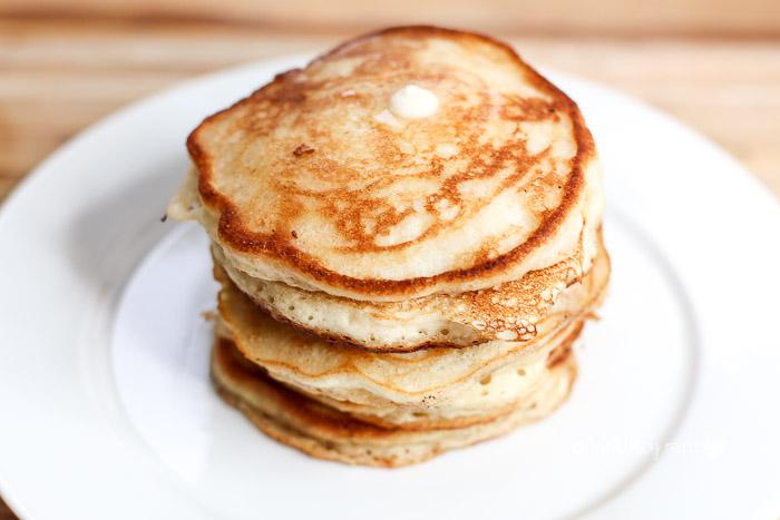 The Best Buttermilk + Cornmeal Pancakes
