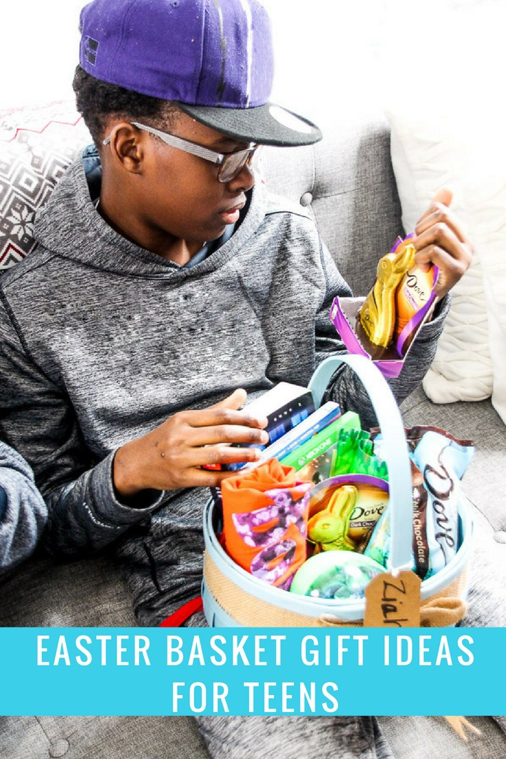 Gift basket ideas for teens