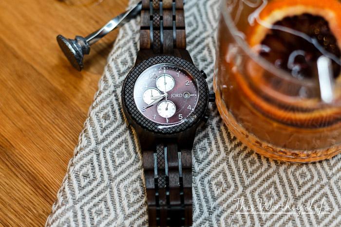 Raspberry Tea Fizz Cocktail + JORD Watch Giveaway