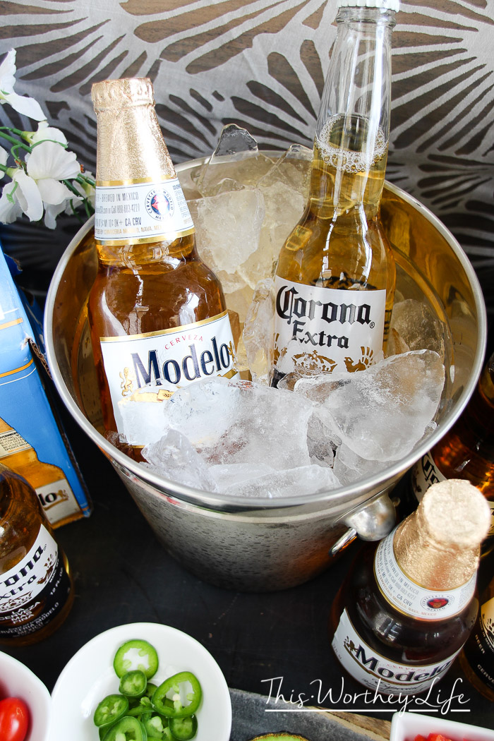 Recipes to go with Corona Beer