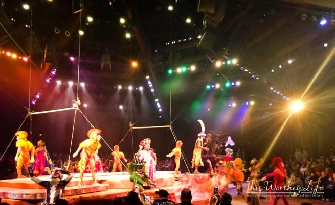 Disney's Animal Kingdom Lion King show