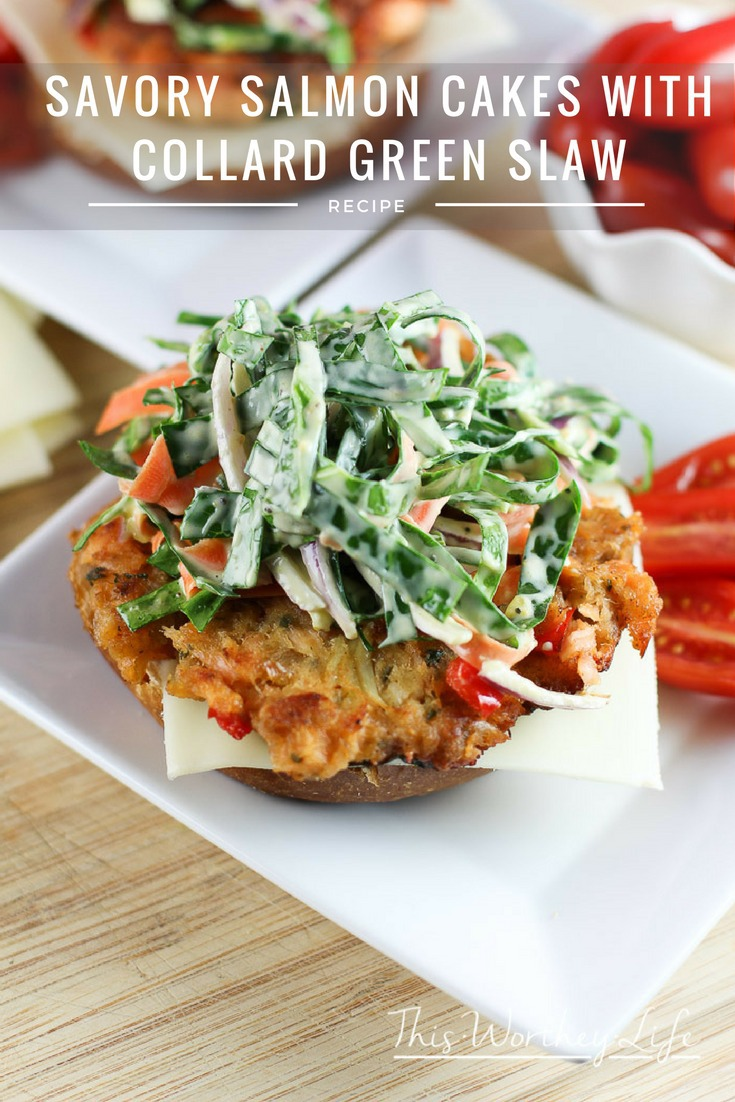 This Mother's Day, make her day by trying our Savory Salmon Cakes with Collard Green Slaw. It's a great recipe for a Mother's Day Brunch and will be a great addition to your recipe book. Plus, I'm showing you how to make forever flowers out of paper tissue.