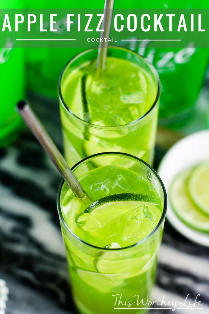Apple cran splash apple fizz aliz cocktails twitter for Cocktail 2 ingredients