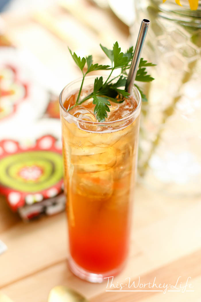 National Michelada Day is coming soon. This Michelada idea is a great way to celebrate. Michelada cocktails are similar to the Bloody Mary, so give it a try today! Bourbon Michelada Cocktaill + Pineapple Salsa Recipe