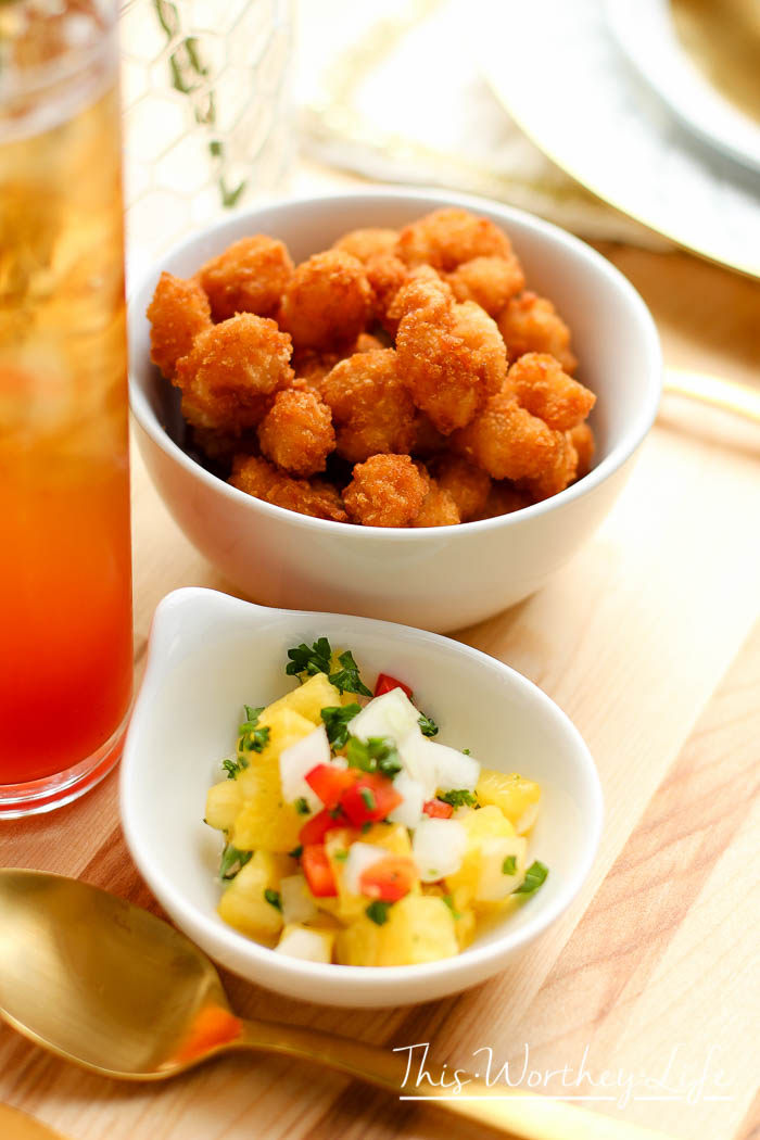 Pineapple Themed Party Idea with Bourbon Michelada